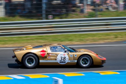 1965 Ford GT40 old classic race car