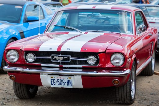 1965 Ford Mustang GT car