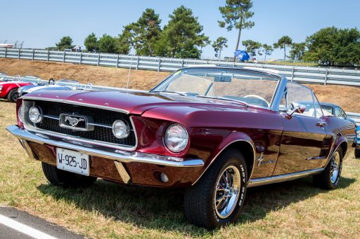 1967 Mustang GT classic sports car