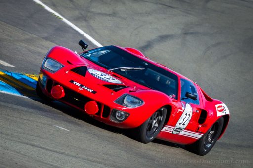 1967 original red Ford GT40 classic racing car