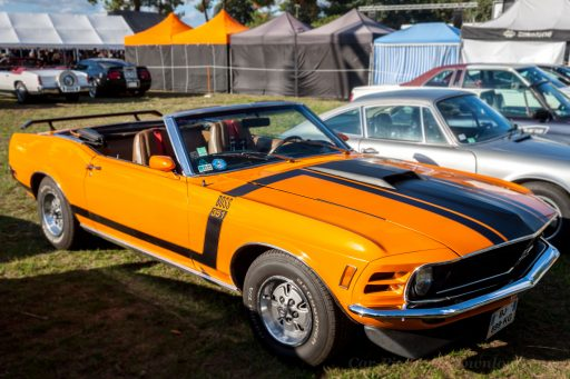 1971 Ford Mustang Boss 351 cabriolet car