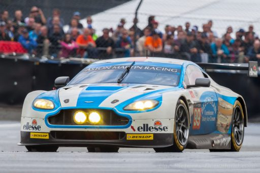 2016 Aston Martin Vantage race car