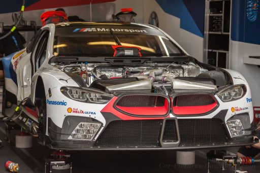 2018 BMW racing car