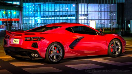 Corvette C8 car HD background 1920x1080