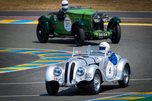 BMW 328 vintage racing car