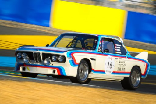 BMW CSL 3.0 old racing car