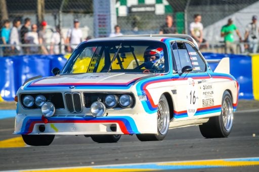 BMW CSL 3.0 vintage racing car