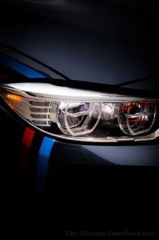 BMW M headlights wallpaper