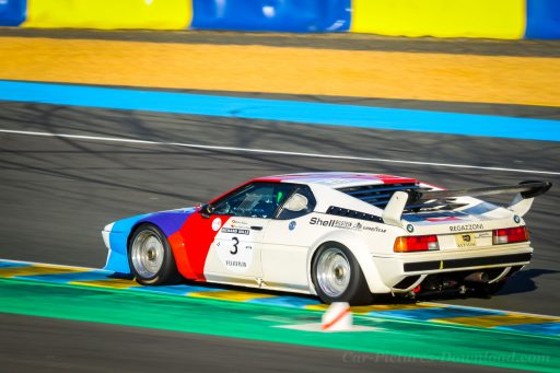 BMW M1 Procar vintage racing car