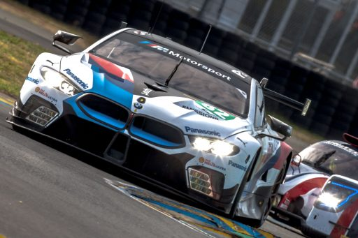 2018 BMW M8 GTE racing car