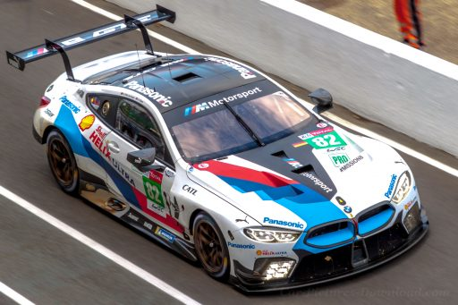 BMW M8 GTE racing car 2018