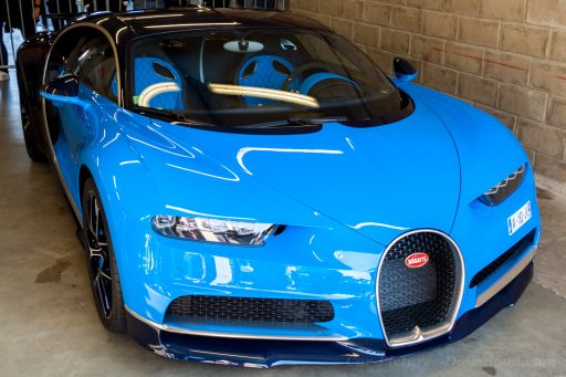Bugatti Chiron Sport super car