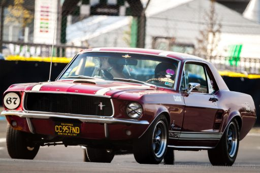 Classic Ford Mustang first generation sports car 1967