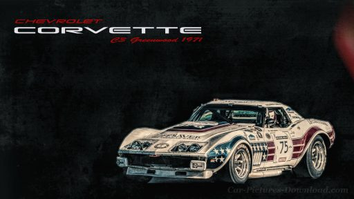 Corvette C3 classic car wallpaper