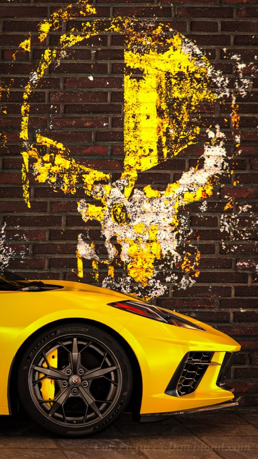 Corvette C8 car wallpaper iPhone