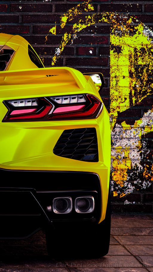 Corvette C8 car wallpaper mobile