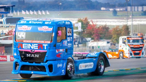 European trucks racing photo