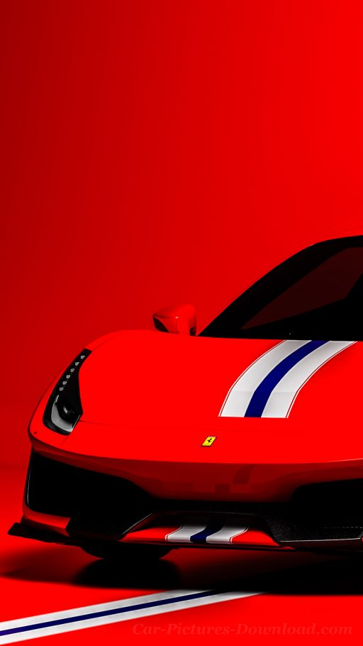 Ferrari 488 car wallpaper iPhone