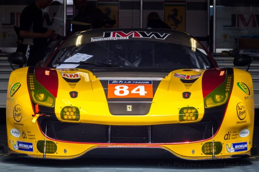 Ferrari GT racing car