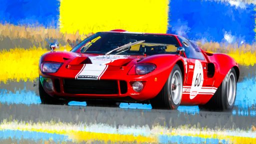 Ford GT 40 race car wallpaper