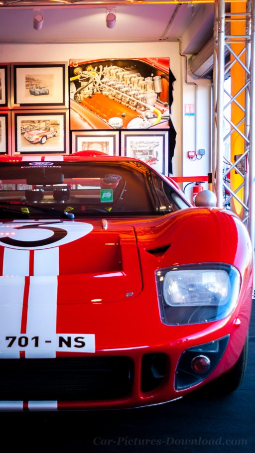 Ford GT40 classic car wallpaper iPhone