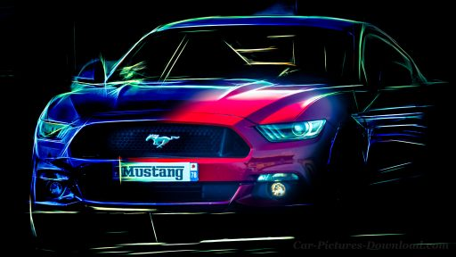 Ford Mustang sports car wallpaper
