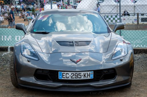 Gray Corvette C7 car image HD