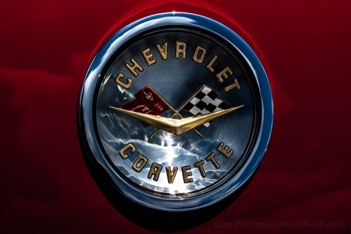 Corvette emblem wallpaper