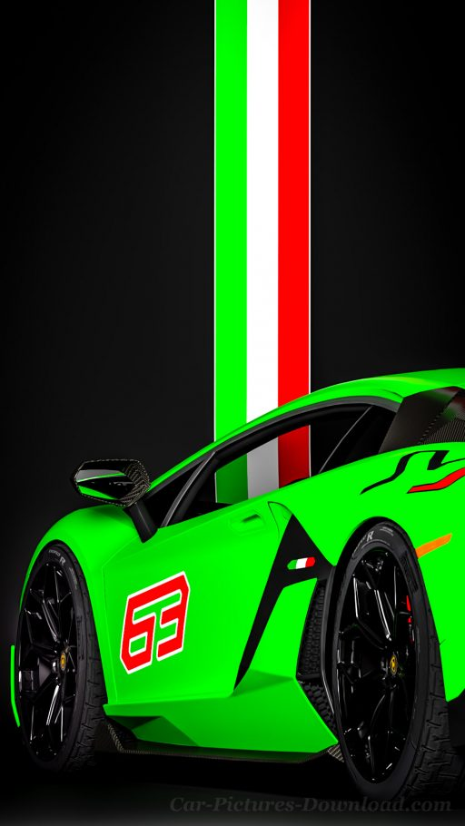 Lamborghini Aventador SVJ wallpaper iPhone