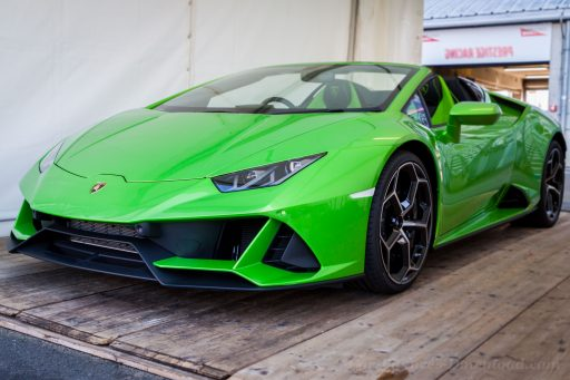 Lamborghini Huracan latest car