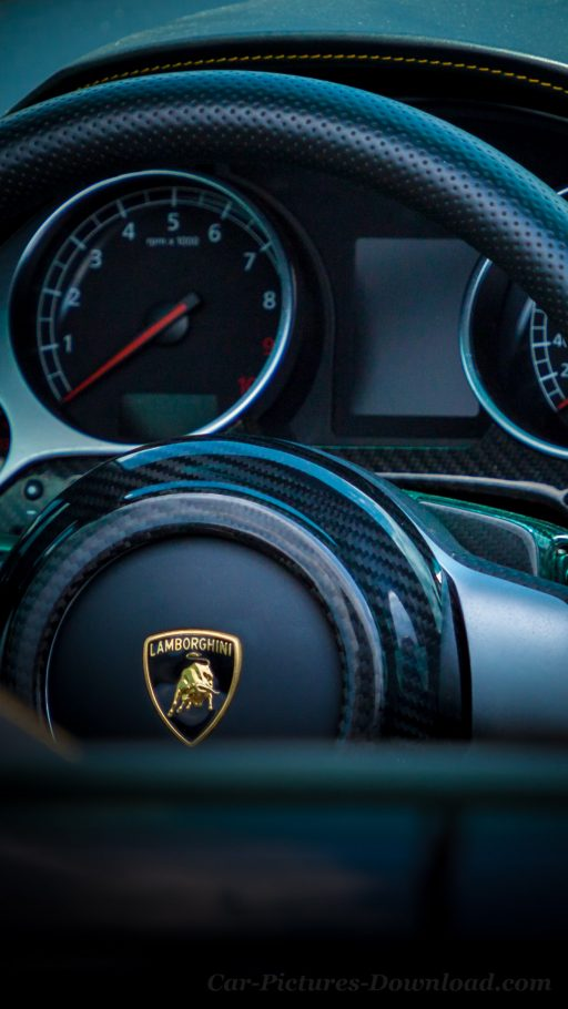Lamborghini car interior wallpaper iPhone