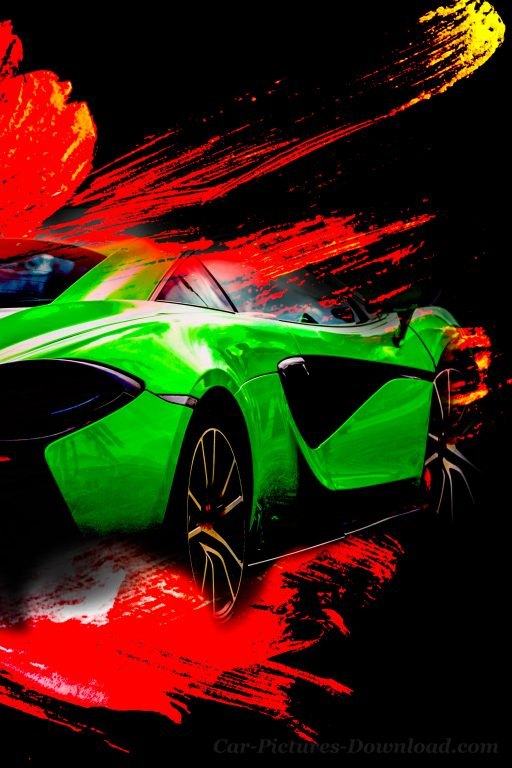 iPhone sports car wallpaper