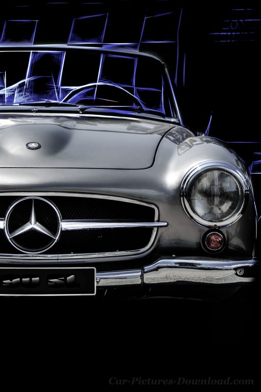 Mercedes Benz classic car wallpaper