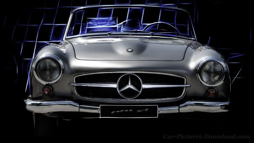 Mercedes Benz classic wallpaper 4K