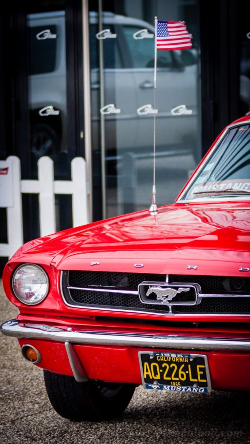 Mustang classic car HD background mobile