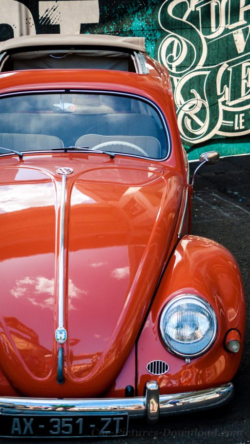 VW Beetle classic car wallpaper mobile