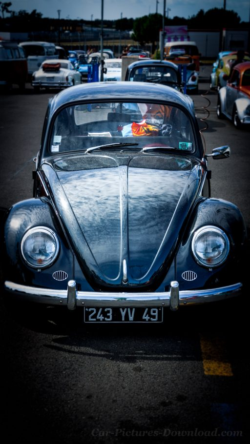 Volkswagen Beetle 4K wallpaper phone
