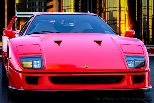 best Ferrari F40 pictures