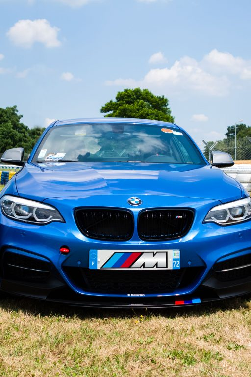 blue BMW M2 Coupe wallpaper HD