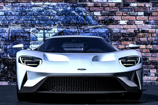 new Ford GT sports car HD