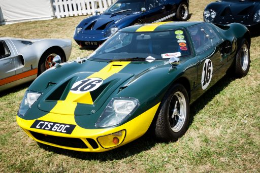 original Ford GT40 classic car 1966