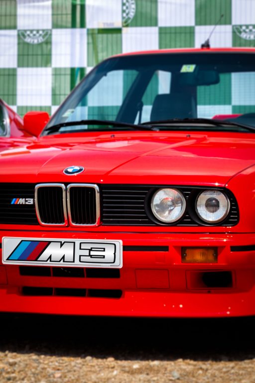 red BMW M3 classic sports car wallpaper mobile