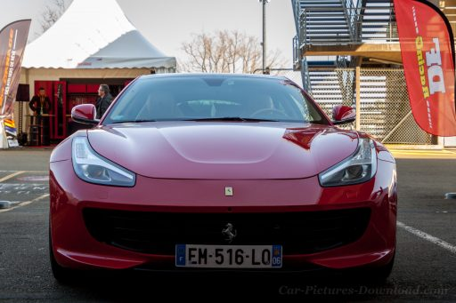 red Ferrari GTC4Lusso luxury car
