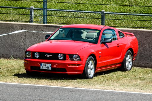 red Ford Mustang car picture HD