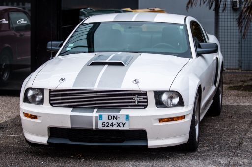 white Ford Mustang car picture HD