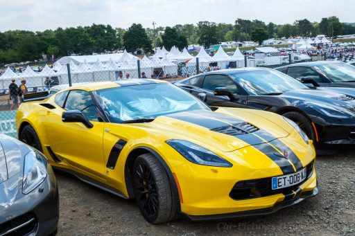 yellow Corvette C7 car image HD