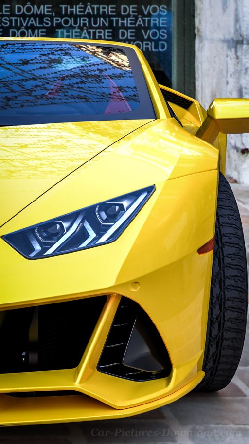 yellow lamborghini huracan wallpaper